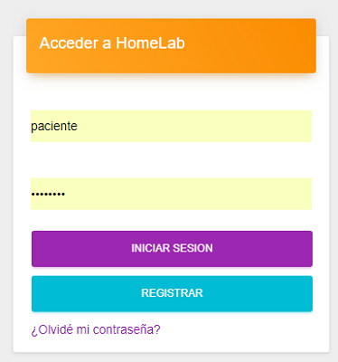 HomeLab – Sistema de Laboratorio