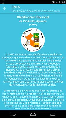 Aplicación CNPA (Móvil)