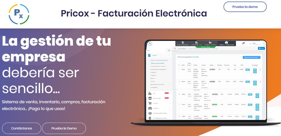 PRICOX-Facturación Electrónica