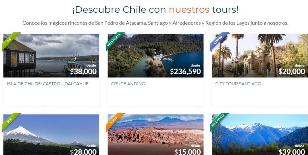 Web de viajes Multimoneda y Multiidioma