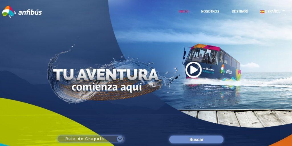 Web de Turismo Anfibus