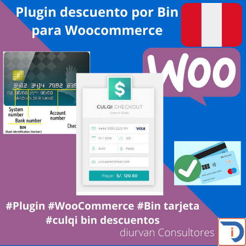 Descuento bin for WooCommerce
