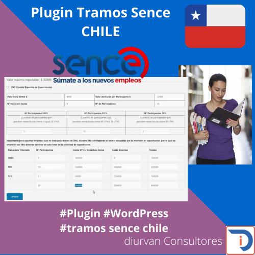Plugin Tramos Sence Chile
